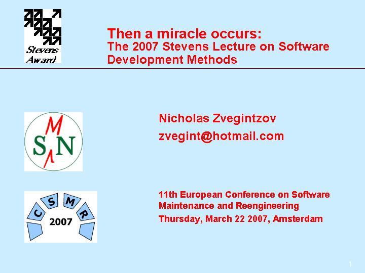 Software Maintenance News