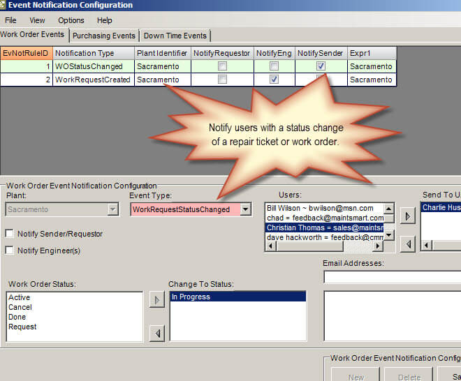 Maintenance Tracking Software CMMS Software for Preventive Maintenance