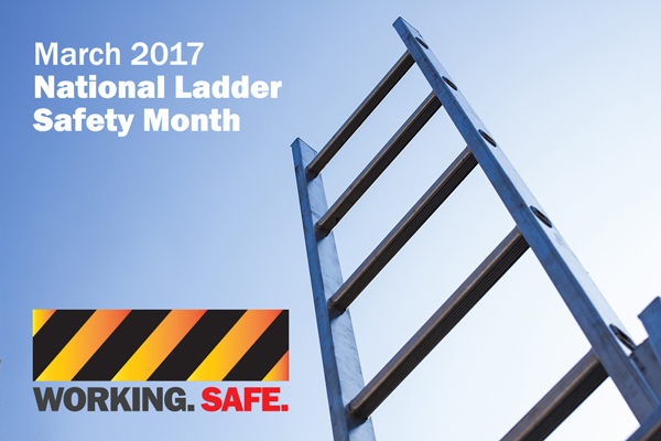 Every Step Matters National Ladder Safety Month In March