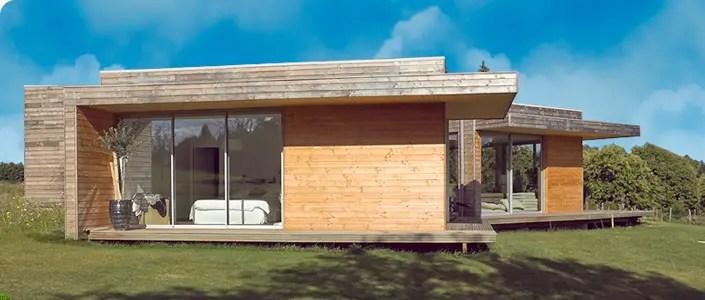 Autoconstruction de maison en ossature bois - Maison eco bois - Maison En Bois Autoconstruction