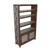 CD/DVD RACK 2 Doors 4 Cases | Docker Plate (Dark) Living ...