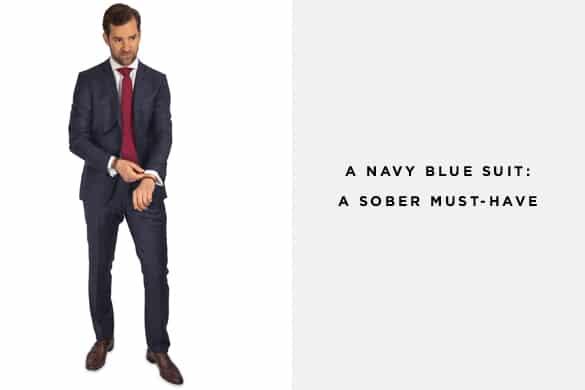 Navy Blue Suit From The Nines Men39s Suit