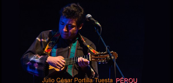 Julio César Portilla Tuesta - PÉROU - Les Rencontres Internationales de Charango 2016