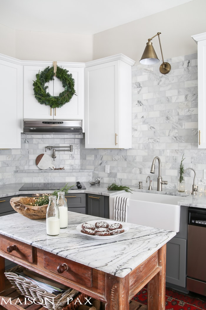 Christmas Kitchen - Maison de Pax - christmas kitchen decor