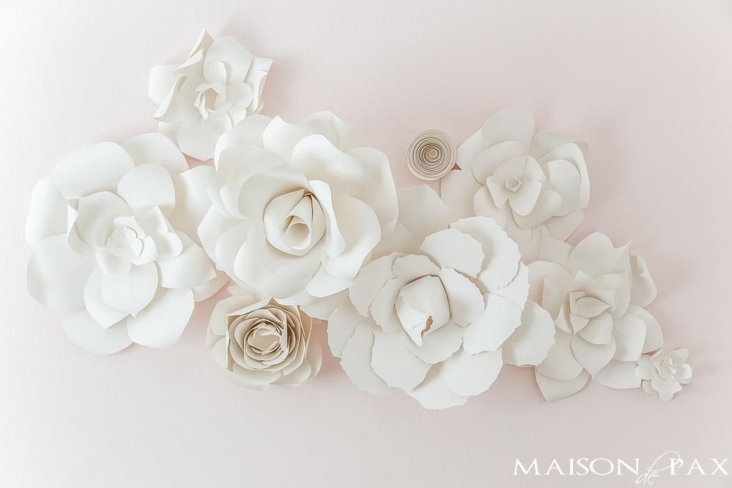 DIY Giant Paper Flowers Tutorial - Maison de Pax