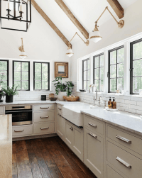 Rustic Modern Farmhouse Kitchen Design Ideas - Maison de Pax