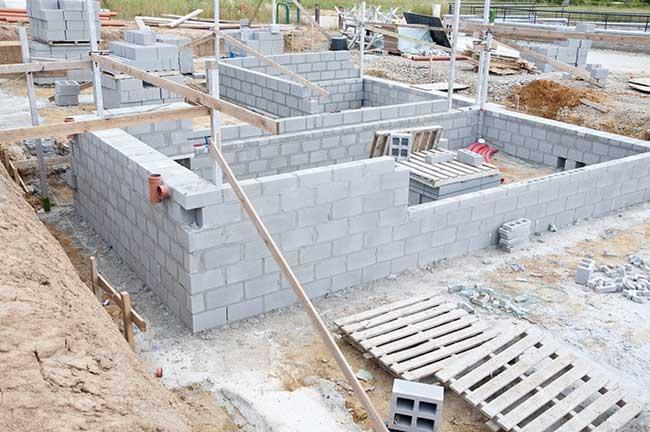 Le prix des fondations de maison