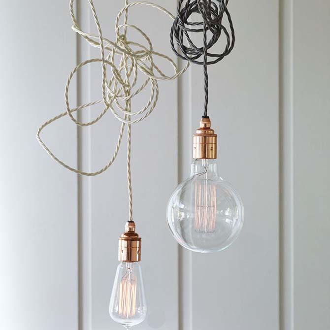Bulb lighting e lampade nude, come utilizzarle e dove comprarle