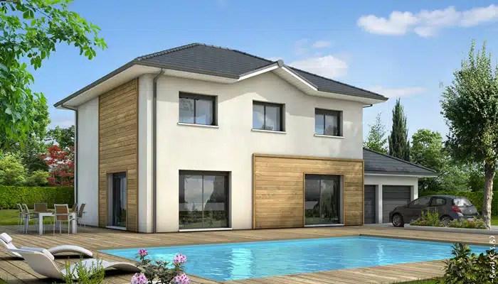 VILLA ELENA étage contemporaine avec toiture terrasse accessible - des plans des maisons modernes