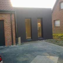 extension de maison bois houchin