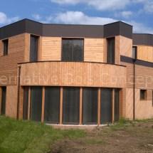 maison bois d'architecte carvin