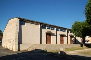 Restructuration de la salle des fêtes de Saint-Claud (16)