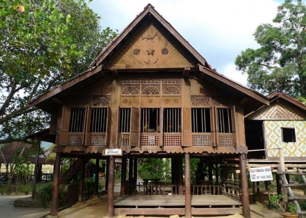 warisan kesenian seni bina home design idea