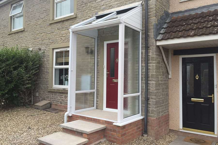 Designing the perfect double glazed uPVC porch