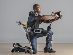 Un exemple d'exosquelette domestique destiné à la Navy