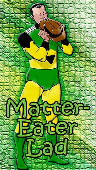 Dc Comics Power Girl Wallpaper Hero History Matter Eater Lad Major Spoilers Comic Book