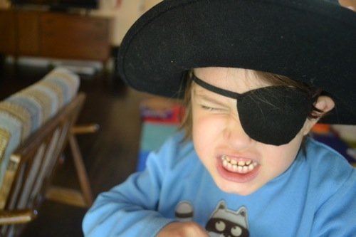Pirate Eye Patch Pattern For Kids Costumes Dress Up