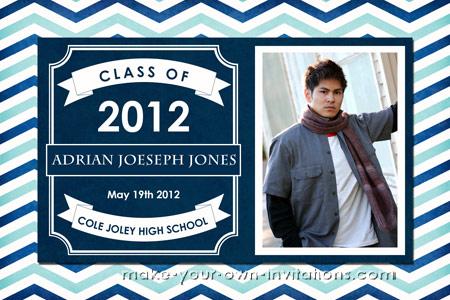 Make a college Graduation Invitation High school ideas too - graduation photo invitations