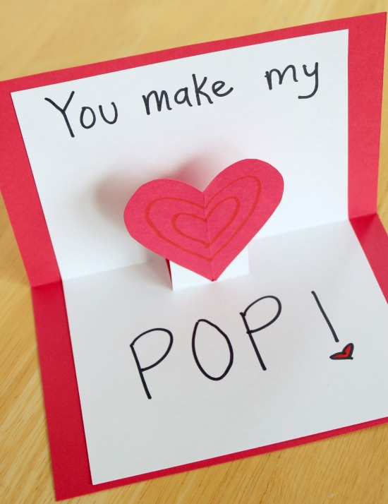 Pop Up Cards for Your Valentine Make and Takes