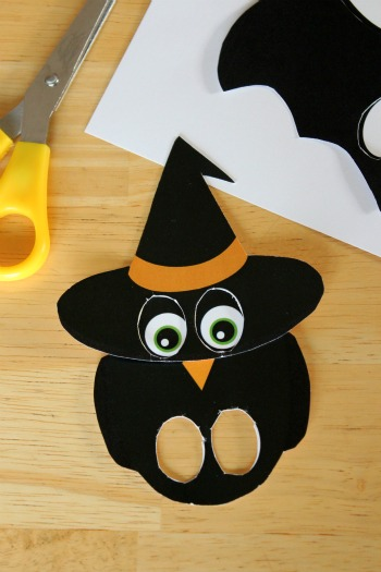 Printable Halloween Finger Puppets Make and Takes