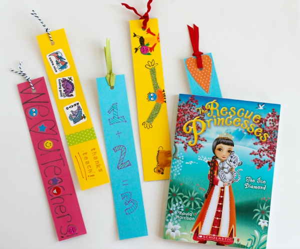 Back to School Bookmarks for Teacher Make and Takes