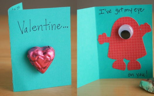 Monster Valentine\u0027s Cards for the Classroom Make and Takes