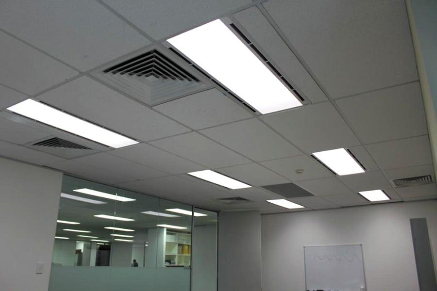 Prismatic Lens Vs Parabolic Louver For Office Lighting | Make