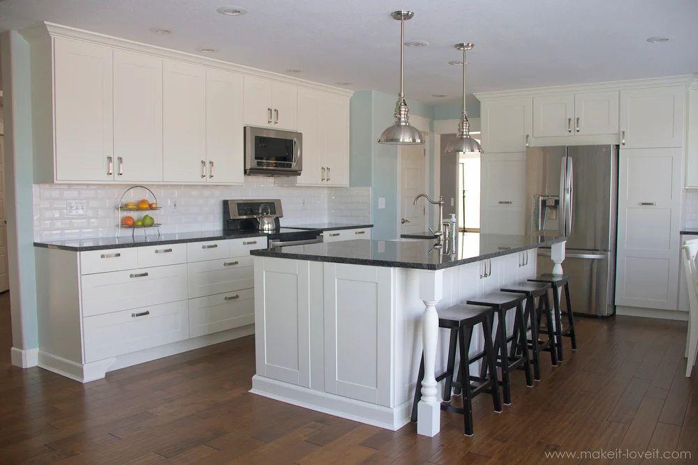 Kitchen Island Granite Overhang kitchen island with granite overhang