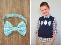 Little Boy Bowtie: the QUICK and EASY version | Make It ...