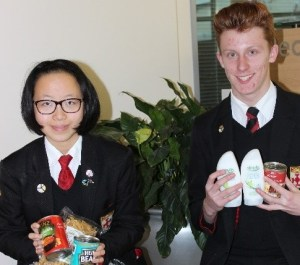 All Hallows Helps the Macclesfield Treehouse Food Bank Appeal