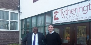 First Team goes back to the classroom at Tytherington School