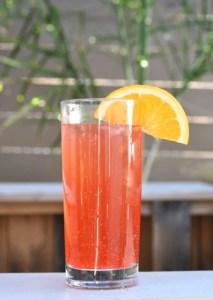 Orange Grapefruit Ginger Ale Drink