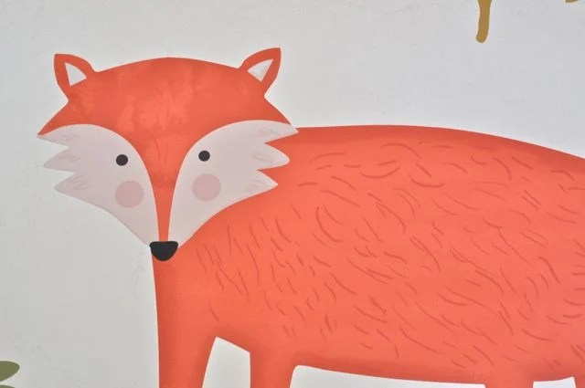 Forest Friends Fabric Wall Decals