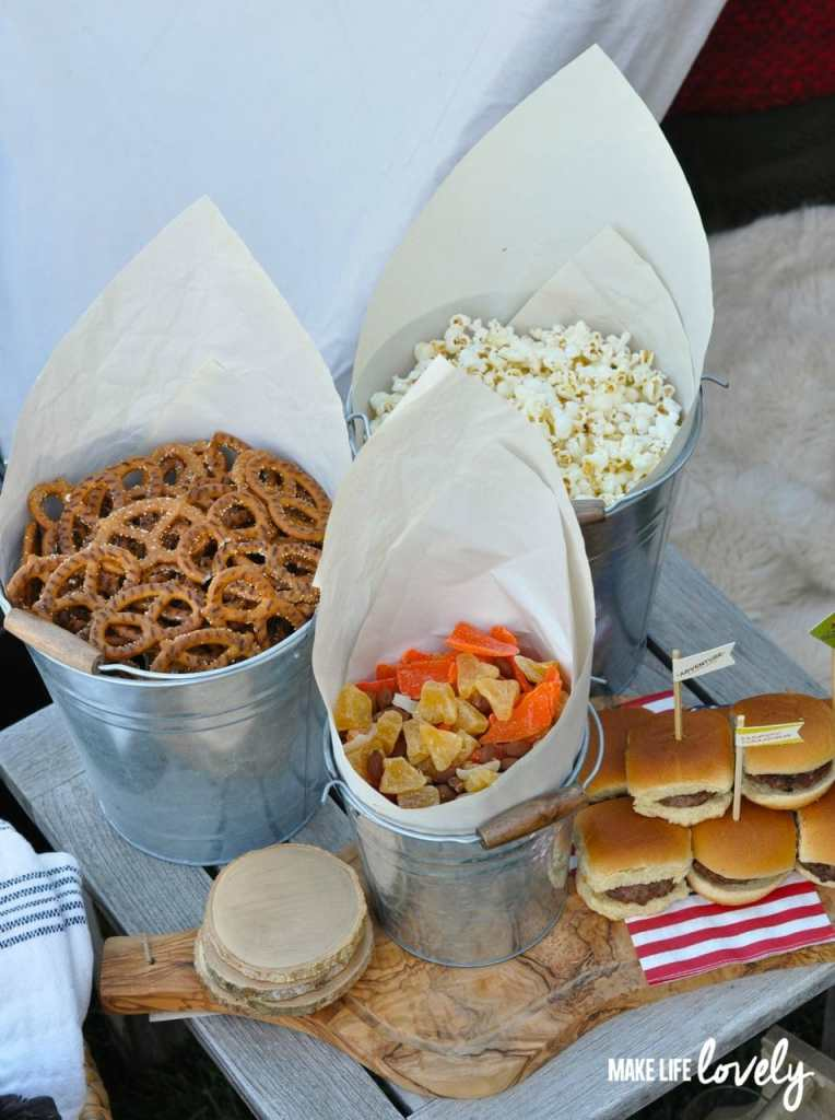 Glamping Food Ideas | by Make Life Lovely