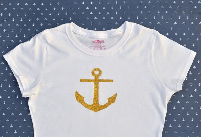 How to make an anchor shirt