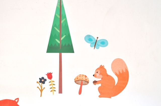 Wall decals for kids room