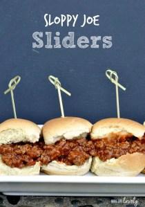 Sloppy Joe Sliders