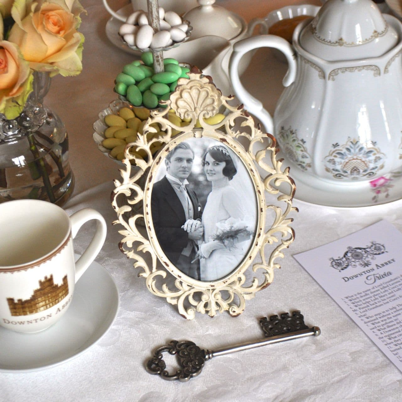 Sofia the first slumber party ideas make life lovely downton abbey tea party monicamarmolfo Image collections