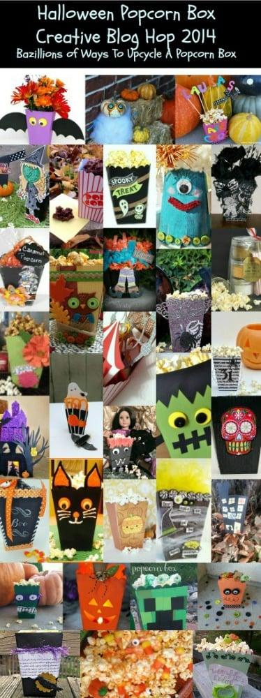 Halloween Popcorn Box Blog Hop 2014