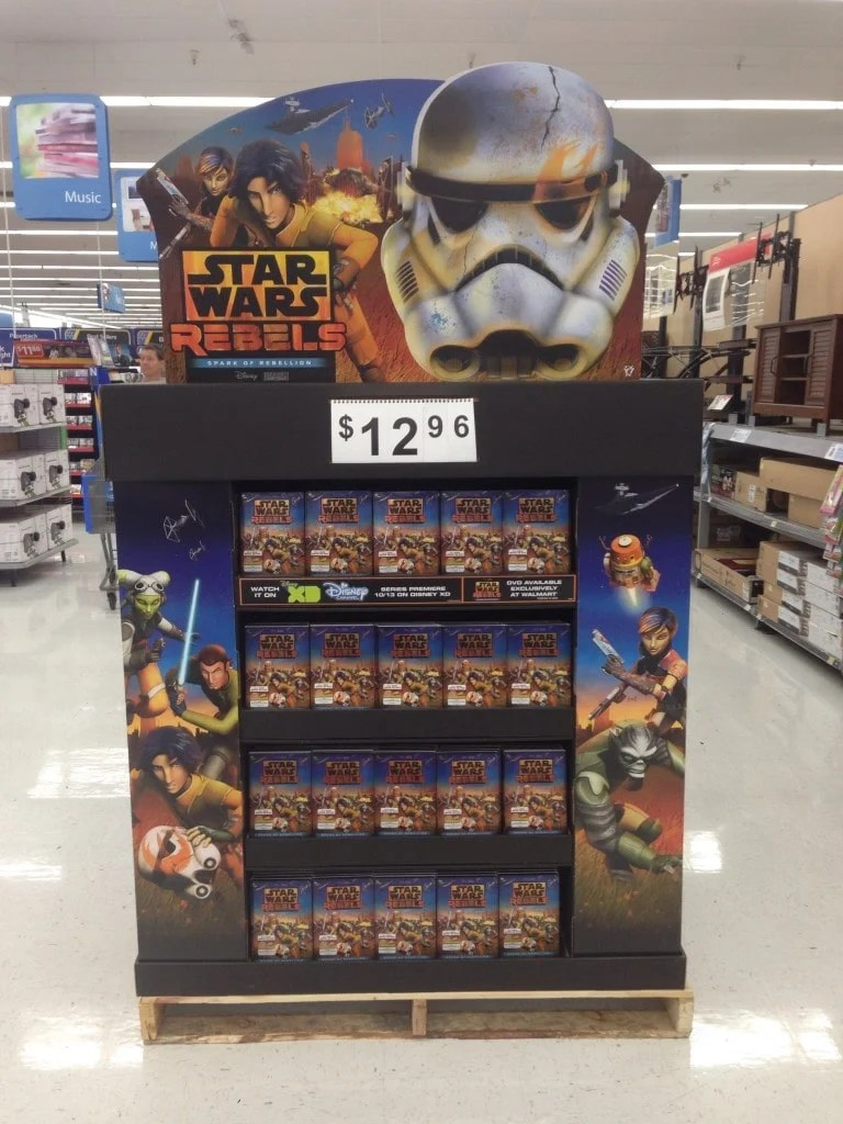 Star Wars Rebels DVD at Walmart