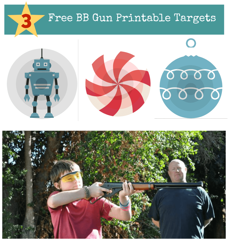 This is an image of Sly Printable Bb Targets