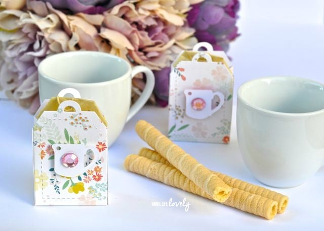 Sizzix Tea Bag Boxes by Make Life Lovely