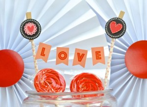 Valentine's Day Party with Target One Spot Items