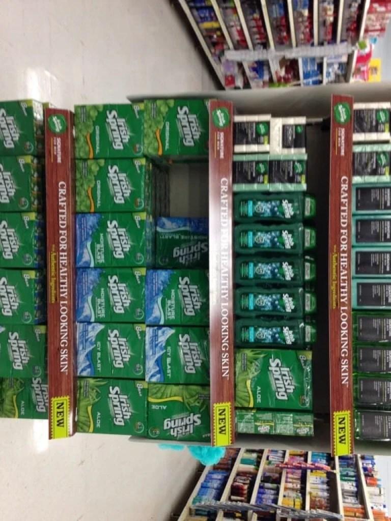 Irish Spring Signature Series at Walmart