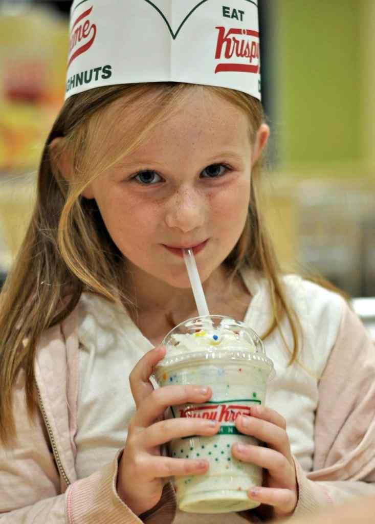 Krispy Kreme Birthday Cake Chiller