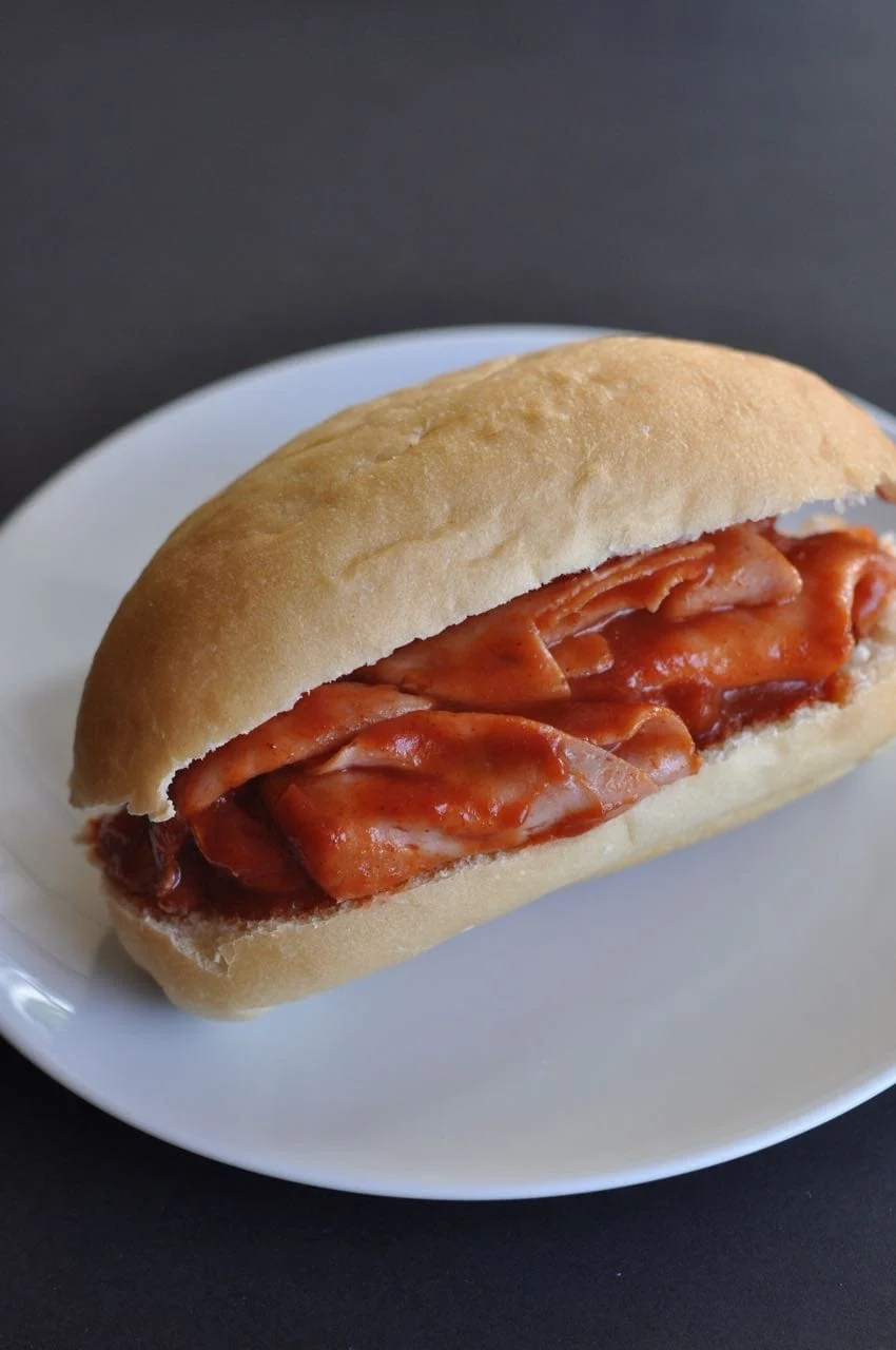 Easy Ham Sandwiches with Sauce