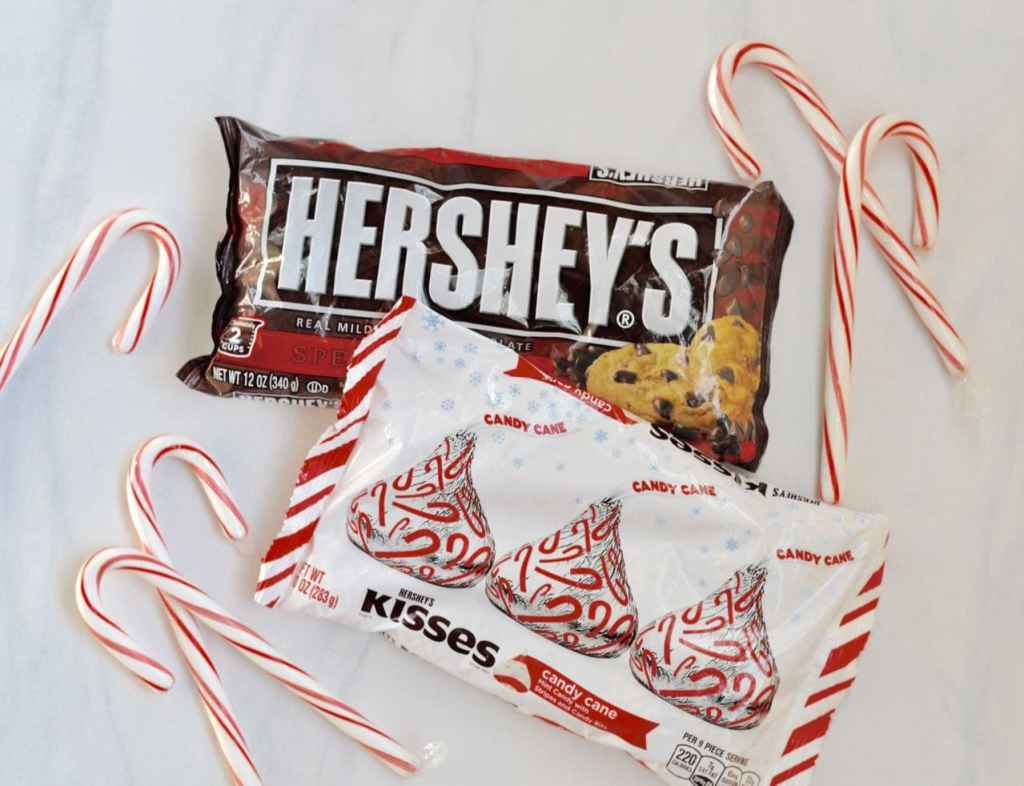 Making fudge with Hershey's products