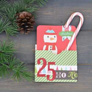 Holiday Pocket Card Tutorial