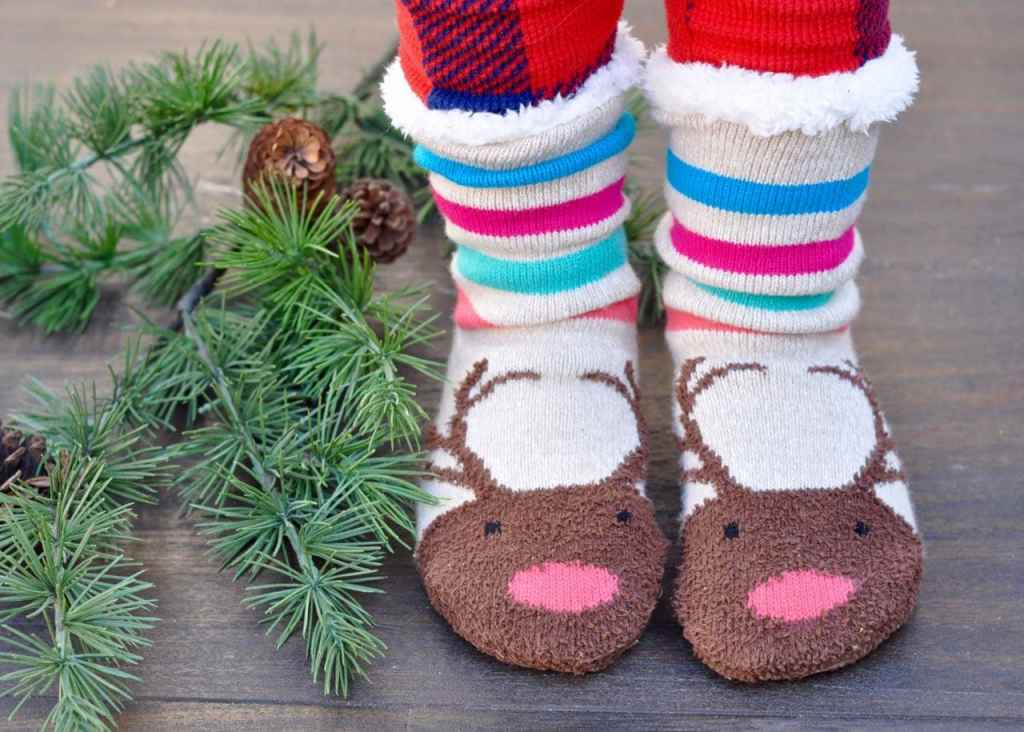 Christmas slipper socks for teens
