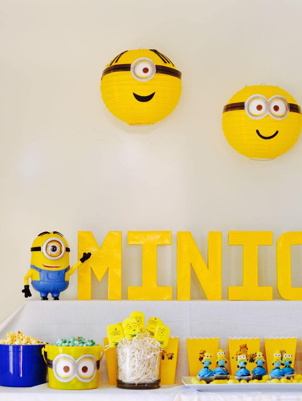 Minion Party Minions Party Diy Minions Paper Lanterns Make Life Lovely